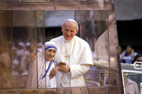 Papa Francisco e Madre Teresa de Calcutá