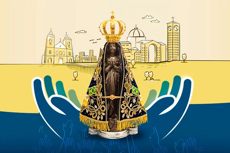 Novena De Nossa Senhora Aparecida: Cartaz Da Novena De Aparecida 2018